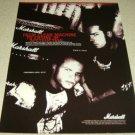 Wayne Static & M.33 Marshall Ad - Static-X