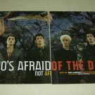 AFI 4 Page Article/Clipping - Davey Havok