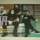 AFI 2 Page Article/Clipping #2 - Davey Havok