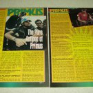 Primus 3 Page Article/Clipping - Les Claypool