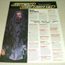 Rob Zombie 1 Page Article/Clipping