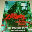Rob Zombie - The Sinister Urge Album Ad