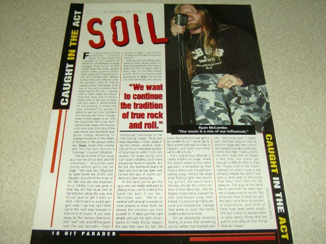 Soil 1 Page Article/Clipping