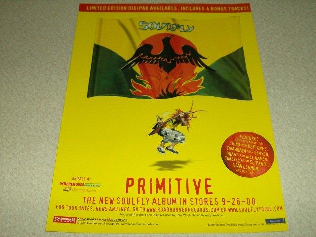 Soulfly - Primative Album Ad