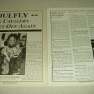 Soulfly 2 Page Article/Clipping
