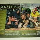Soulfly 3 Page Article/Clipping - Max Cavalera
