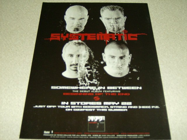 Systematic - Somewhere In Between Album Ad #2