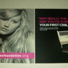 Ashley Tisdale 2 Page Candie's Foundation Ad/Clipping - High School Musical