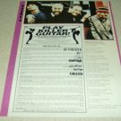 """Goldfinger 1 Page """"Ghouls Night Out"""" Lyrics Article/Clipping"""