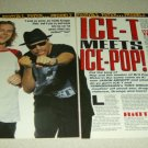 Tony Wright & Ice T 4 Page Article/Clipping - Terrorvision