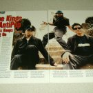 Primus 2 Page Article/Clipping #2 - Les Claypool