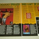 Primus 2 Page Article/Clipping #3 - Les Claypool