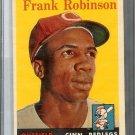 1958 TOPPS Baseball Card Frank ROBINSON #285 EX+ Reds Orioles MLB HOF $100 Nice