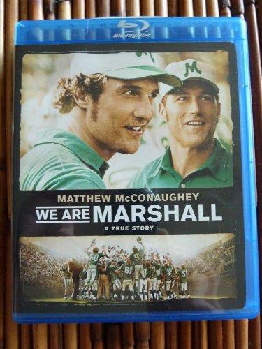 We Are Marshall Blu-ray True Story NEW Sealed Matthew McConaughey Football Movie