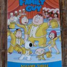 Family Guy - Volume 3 (DVD, 2009, 3-Disc Set) Special Edition MINT No Scratches