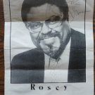 Roosevelt Rosey Grier Autograph NY Giants LA Rams RFK NFL Football Actor Signed