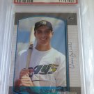 ROCCO BALDELLI 2000 Bowman Draft Picks BDP Rookie Card RC #91 PSA MINT 9 Rays