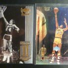 LA LAKERS Worthy Chamberlain West UD Century Legends Upper Deck Fleer 9 Card LOT