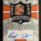 2003 NFL UD Patch Collection Rudi Johnson Signature Patches Auto Graph SP-RJ