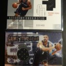 (3) 2002-03 Carlos Boozer Rookie Card RC Jersey Lot UD Topps Chrome Jsy #/400