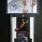 Carlos Boozer Autograph Lot Rookie Card RC Auto 2002-03 SP Authentic Signatures