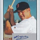 2003 Bowman Heritage Kevin Youkilis Signs of Greatness Auto Graph On Card Sox MT