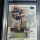 2001 UD Graded Rookie Card Series RUDI JOHNSON BGS 9 MINT RC #/900 Bengals NFL