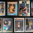 MAGIC JOHNSON Topps Reprint Refractor 9 Card LOT Fleer Skybox Upper Deck Lakers