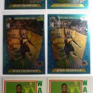 (6) 2001-2002 Jason Richardson Rookie Card RC Topps Heritage Chrome NBA LOT Mint