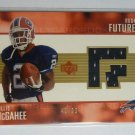 2003 Upper Deck Willis McGahee Rookie Futures Jersey Card RC NFL #48/99 GOLD