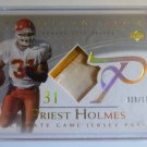 PRIEST HOLMES 2003 Ultimate Collection Game Used Jersey Patch #29/175 #GJP-PH