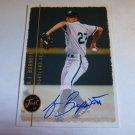 A.J. BURNETT 1999 Just 99 Minors Auto Graph Rookie Card Portland Sea Dogs JM-AJ