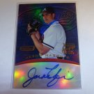 JASON MARQUIS 2001 Bowman's Best Topps Fusion Auto Graph Refractor #FA3 MINT SP