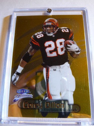 COREY DILLON 1998 Fleer Brilliants GOLD PARALLEL INSERT 69 of 99 #69/99 MINT SP