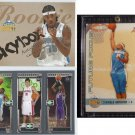 03-04 CARMELO ANTHONY Rookie 3 Card LOT RC Skybox Matrix Focus #/499 #/1500 Melo