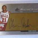 2005 SP Authentic CHRIS DUHON Authentic Signatures Auto Graph Card #AS-CD DUKE