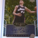 2004-05 UD Black Diamond ANDREI KIRILENKO Gemography Auto Graph Card #GEM-AK