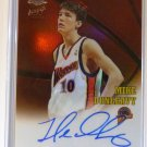 2002-2003 Topps Chrome MIKE DUNLEAVY Refractor Autograph Rookie Card RC #167/500