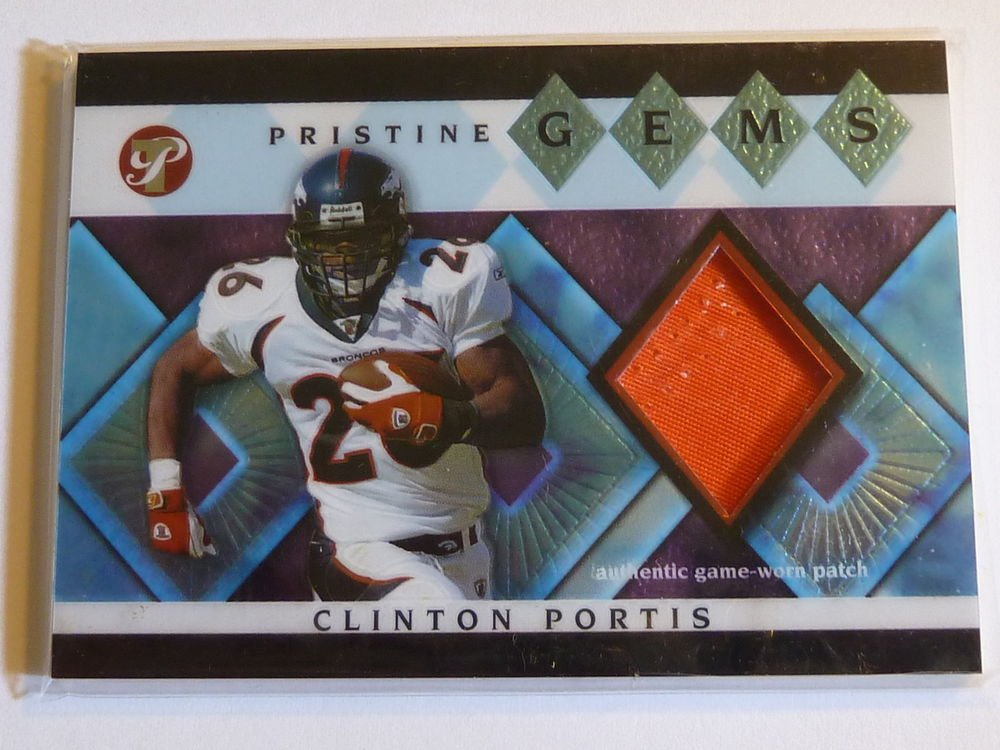 2003 Topps Pristine CLINTON PORTIS Jersey Patch Card #PG-CPO Redskins MINT SP