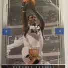 2003-04 Skybox LE MARQUIS DANIELS Rookie Card RC #121 #/399 Mavericks Die-Cut