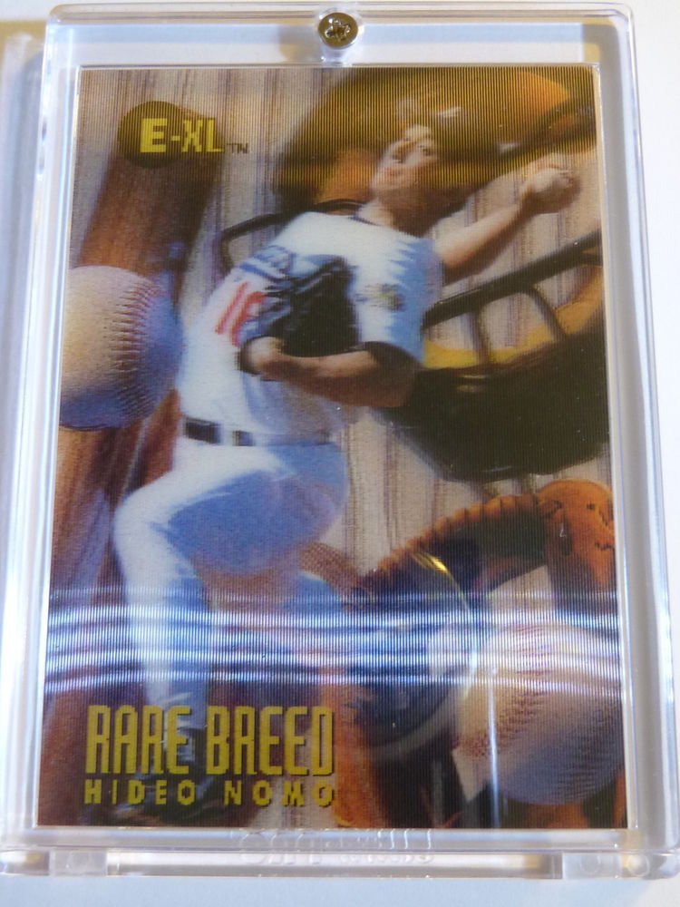 1996 E-XL Rare Breed HIDEO NOMO Card #8 of 10 SP Insert MINT Dodgers Mets 95 ROY