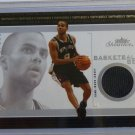 TONY PARKER 2003-04 Fleer Showcase Basketball GU Jersey Patch Card #BB-TP MINT