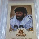 FRANCO HARRIS 2002 Donruss Gridiron Kings Bronze Football Card #159 PSA NM-MT 8