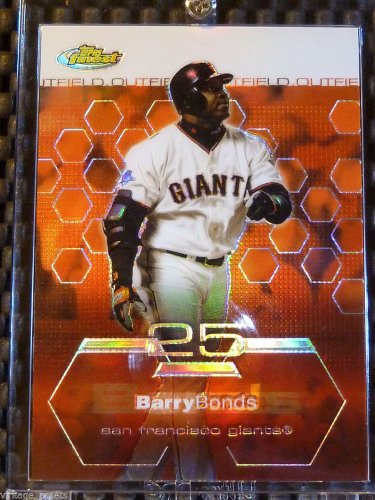 2003 Topps Finest BARRY BONDS Refractor Card #20 SF Giants Gem Mint