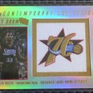 2004 Topps Contemporary Collection WILLIE GREEN Lucky Draw Stitching Rookie #/25