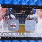2003 Fleer Genuine VLADIMIR GUERRERO Longball Threats Jersey Patch Card