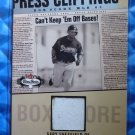 2003 Fleer Box Score GARY SHEFFIELD Press Clippings Jersey Patch #GS-PC