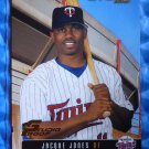 2003 Donruss Studio Proof JACQUE JONES #50 #082/100 Minnesota Twins