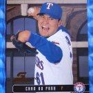 2003 Donruss Studio Proof CHAN HO PARK #84 #043/100 Rangers Dodgers