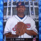 2003 Donruss Studio Proof C.C. SABATHIA #25 #099/100 Indians NY Yankees